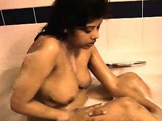 Hot Desi Pornstar Rupali In Bath Tub Masturbation And Shower big boobs brunette hd