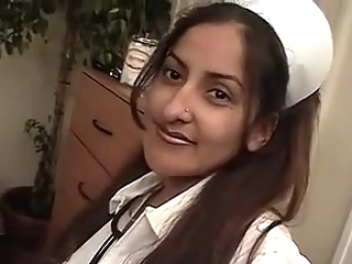 indian nurse indian interracial straight