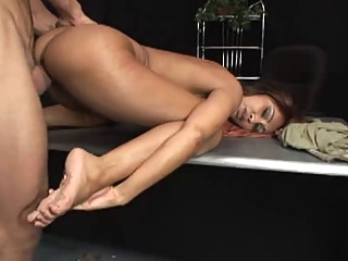 Sexy Indian babe fucks and gets facial big tits facial indian