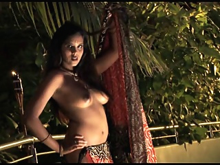Sensuous Indian Hotty Saree Striptease indian straight