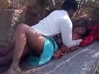 Adorable sex bhabi gets crammed heavily outdoors amateur indian