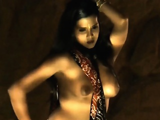 The Art of Belly Dancing amateur babe brunette